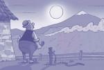 L a chèvre e M. Seguin montagnes