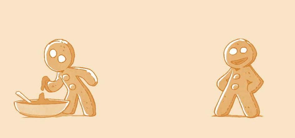 Le Bonhomme en pain d'épice cuisine