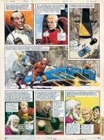 Planche originale de « Trigan Empire ».