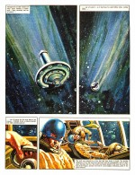 Première page de « The Rise and Fall of the Trigan Empire » dans Ranger, en septembre 1965.