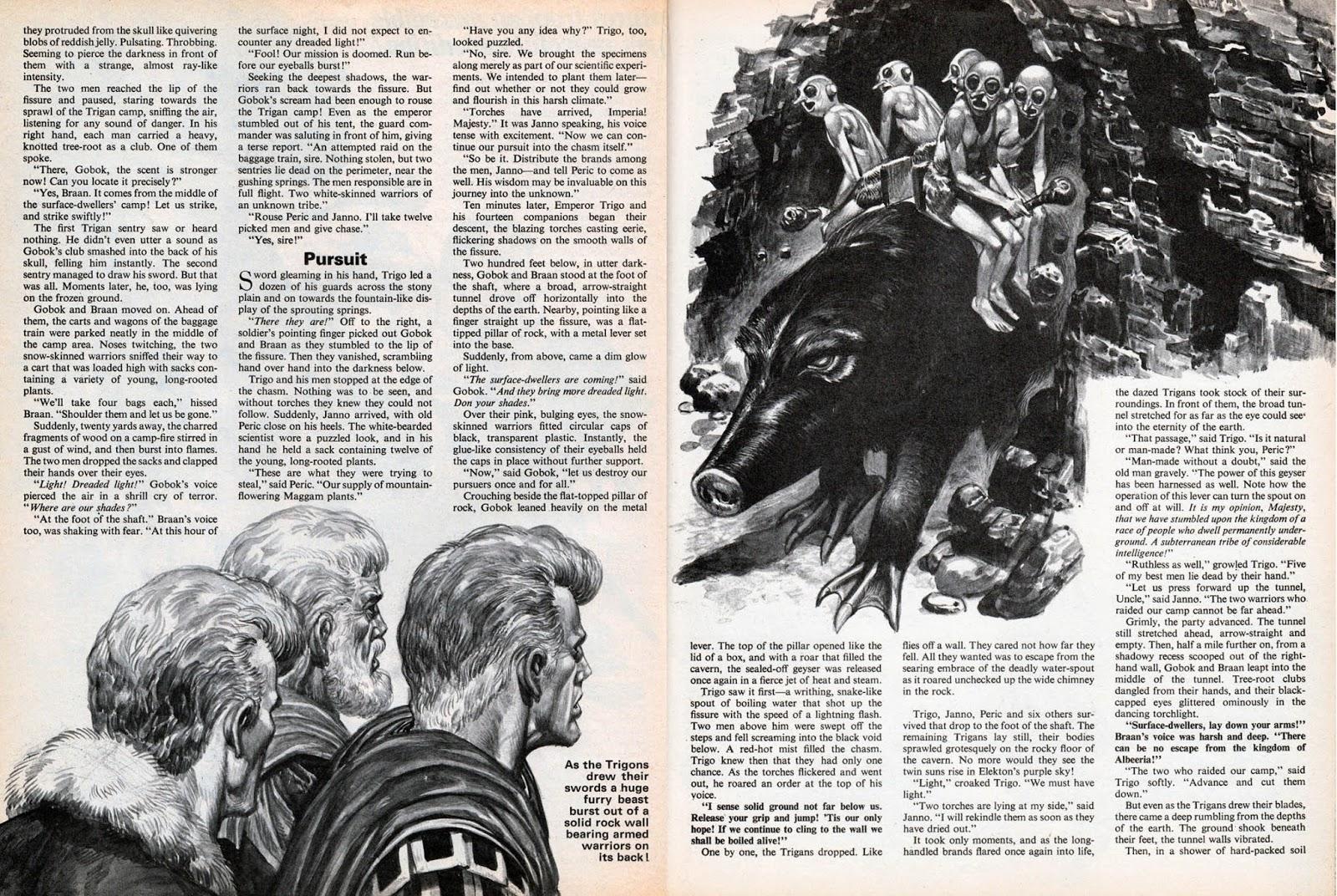 Nouvelle illustrée publiée dans Vulcan Summer Special (1976).