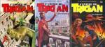 Les tomes 10 à 12 de « L'Empire de Trigan » chez Glénat, publiés entre 1987 et 1989.