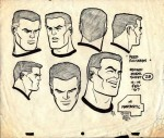 "Concept arts pour Hanna Barbara (""Space Ghost"", ""Fantastic Four"")."
