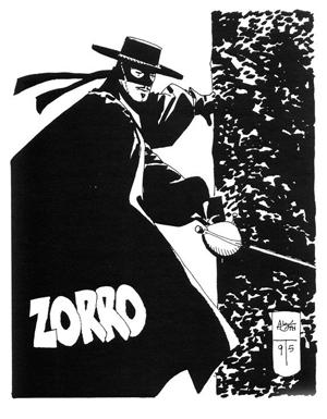 3 Zorro'