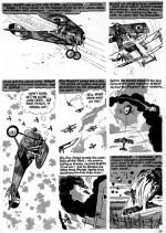 La page 2 de « Lone Hawk » de Blazing Combat n° 2.