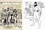 """Une couverture originale pour un giant-size DC de Super Friends + Un concept arts pour Hanna Barbara (""""Space Ghost"""")."""