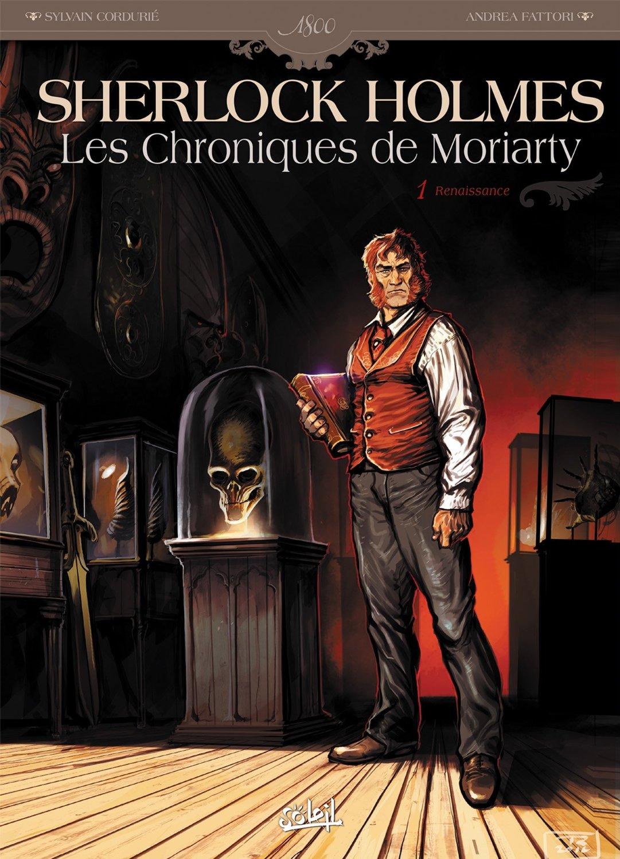 Couverture de R. Toulhoat pour Les Chroniques de Moriarty t.1 : Renaissance (2014)
