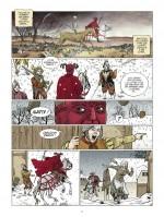Le Diable rouge chevauche avec la mort... (planche 9 - Glénat, 2015)