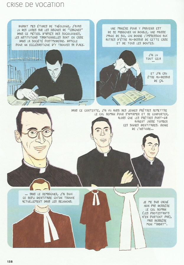 « Confession d'un pasteur » par Fap et Pochep.
