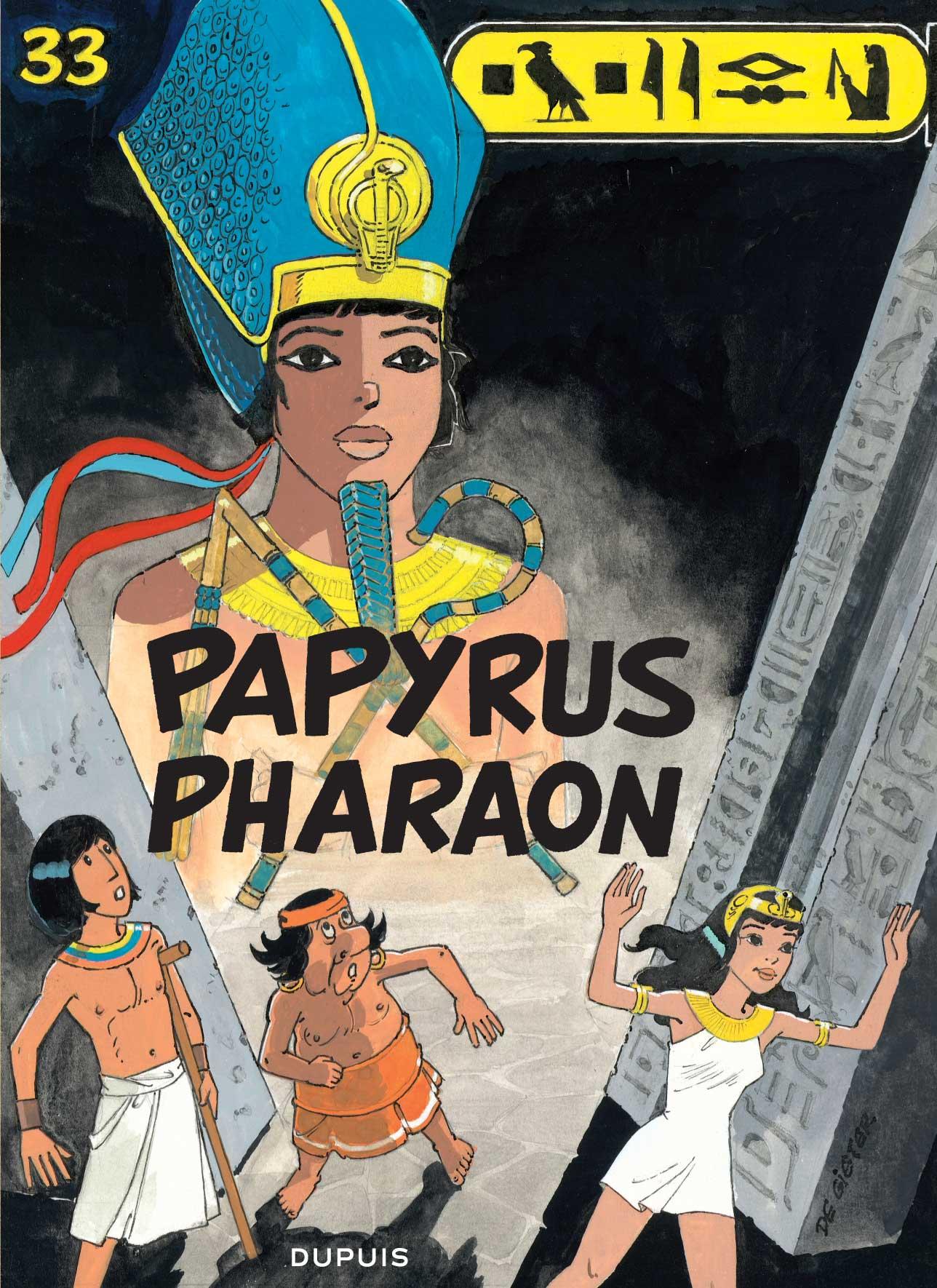 Couverture T 33 Papyrus pharaon