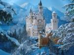 Le féérique château de Neuschwanstein, dans le sud-ouest de la Bavière.