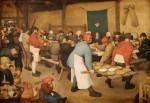 Le Repas de noce (1568) et sa parodie par Uderzo
