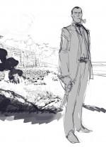 Recherche de couverture par R. Toulhoat et rendu final pour le tome 1 de Sherlock Holmes Society