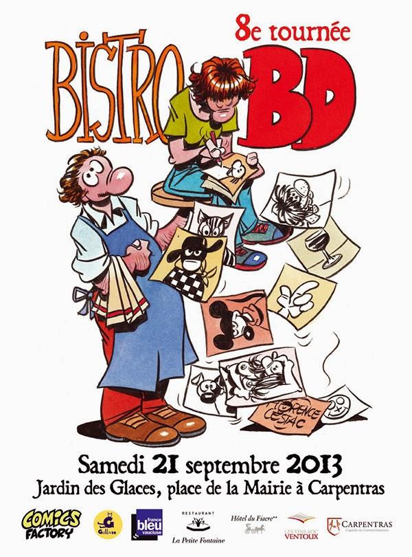affiche BISTRO BD