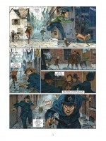 Des gamins à la marge... Planche 8 du tome 6 (Vents d'Ouest, 2015)