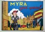 Un fascicule de la collection L'Audacieux avec « Myra North ».