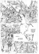 Encrage de la planche 1 du tome 4 (2012)