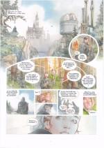 Première planche du tome 2 (Gazette n°4 - Rue de Sèvres et A. Alice - 2015)