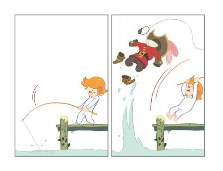 Myrmidon sur l'île des Pirates page 4