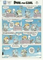 La dernière page de Stuf publiée dans Spirou.