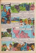 « Hazaña submarina », courte adaptation d'un film publiée dans l'annuaire de Fantasía daté de 1975.