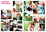 « Laura Holmer » par Horacio Altuna alias Carlos Ink et Carlos Trillo alias Alzer.