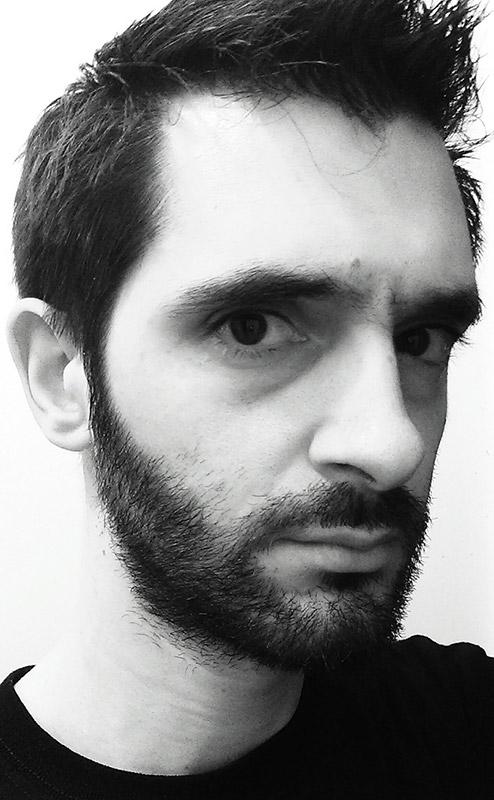 Marc Lataste portrait n&b