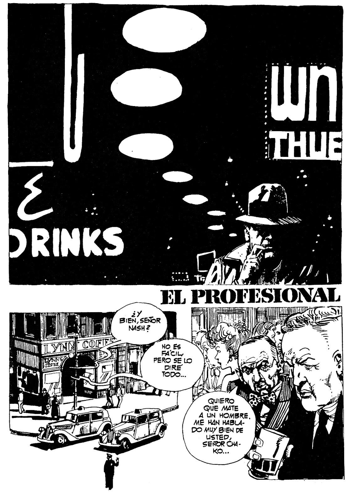 « New York Blues » (publiées dans  Skorpio Plus, en 1979