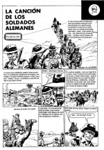 « La Canción de los soldados alemanes », un scénario de Robin Wood  publié dans D'Artagnan Extraordinario nº 250, en 1971.