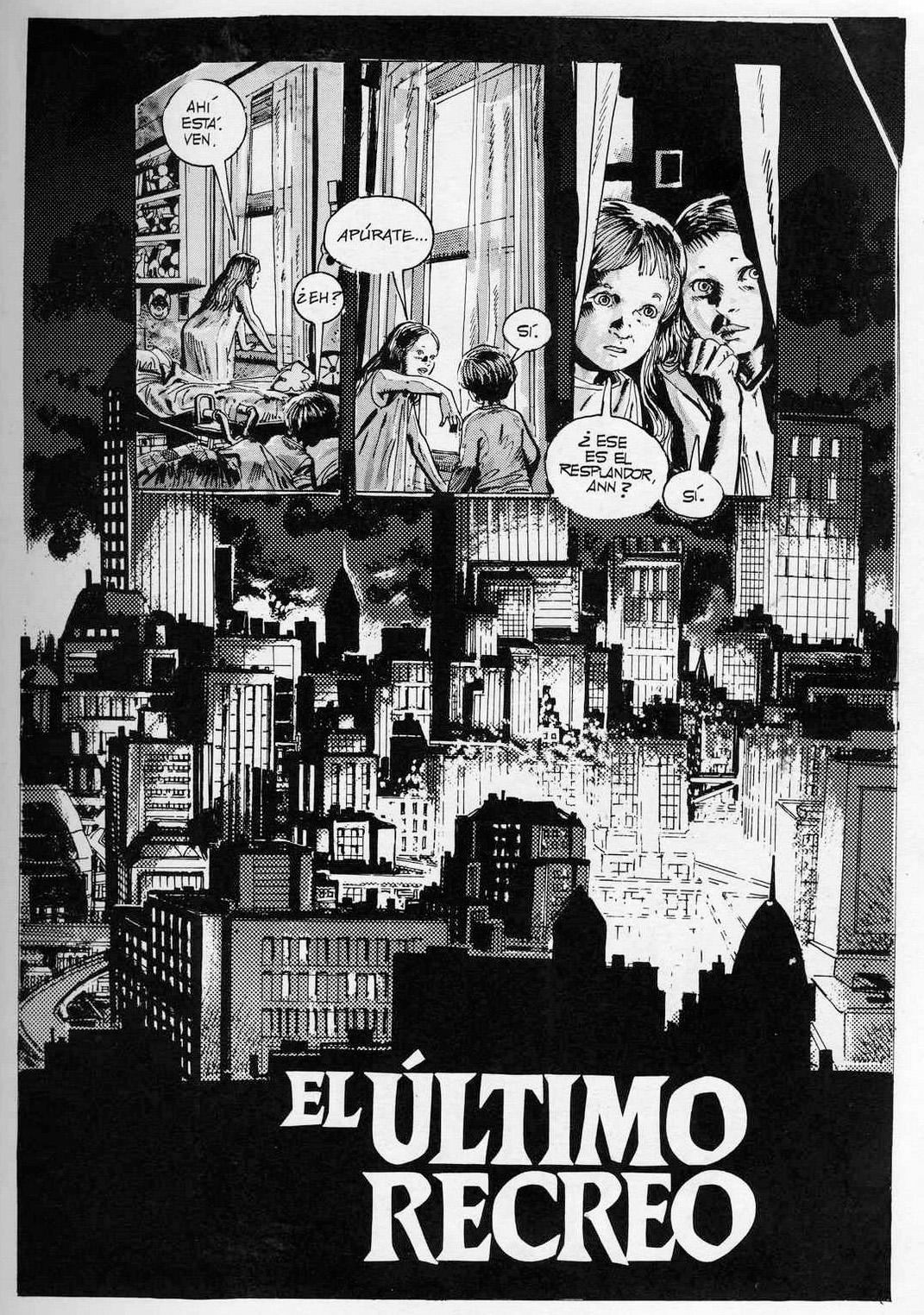 « El Último Recreo » dans 1984.