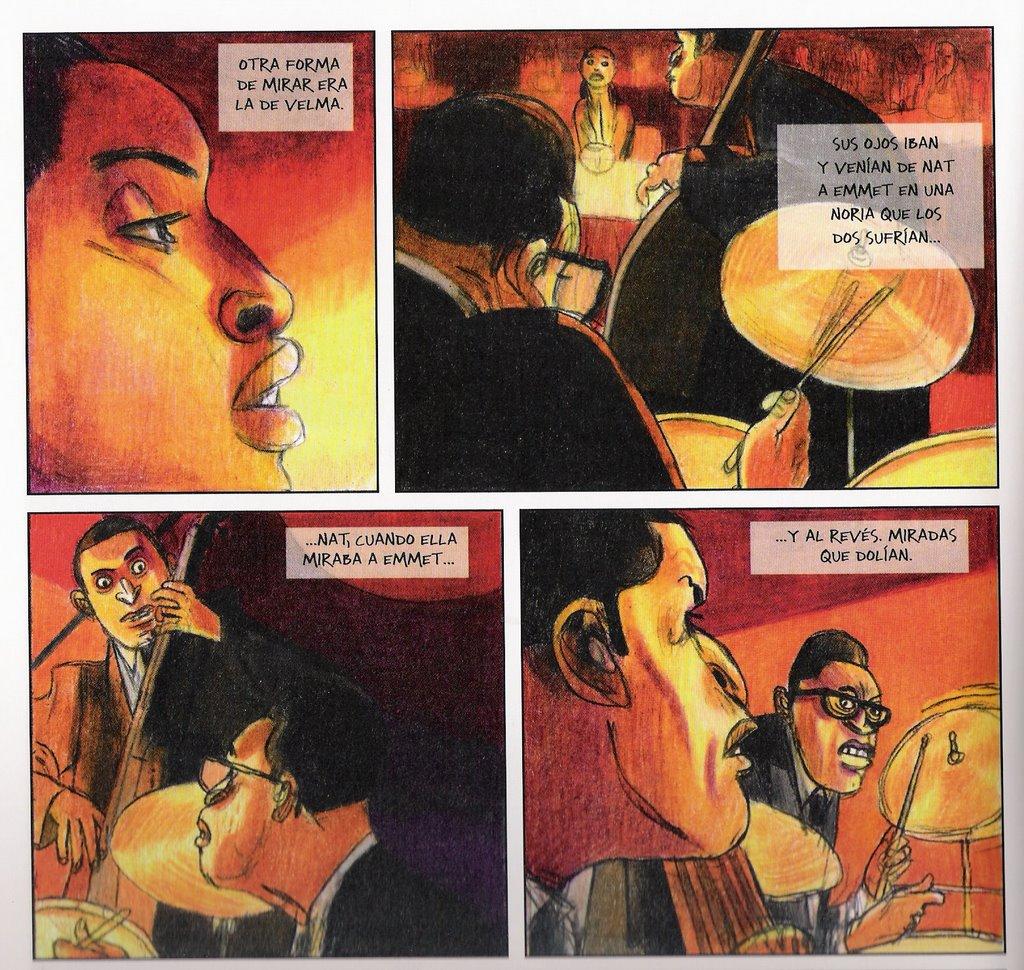 « Hate Jazz » dessiné par Jorge Gonzàlez.