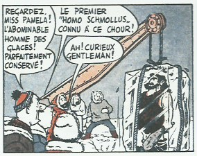 « Onkr, l'abominable homme des glaces » tome 1.