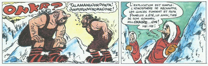 « Onkr, l'abominable homme des glaces » tome 6.