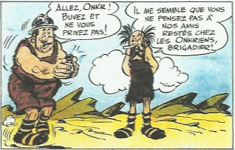 « Onkr, l'abominable homme des glaces » tome 8.