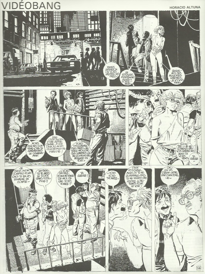« Vidéobang » au n° 40 de Pilote, en octobre 1989.