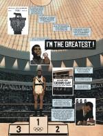 Cassius Clay, un médaillé d'or de 18 ans (planche 15 - Lombard 2015)