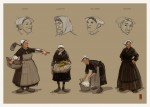 Recherches de caractères et de costumes par S. Morice