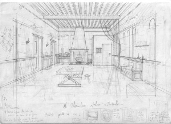 Emejing dessiner sa chambre en perspective ideas design for Comment dessiner une piece en perspective