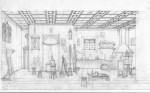 Dessin Jean Dytar atelier Bellini
