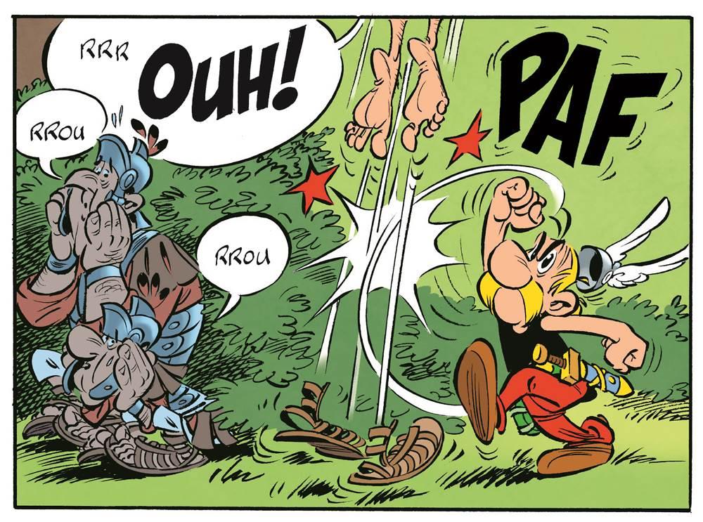 Romains et Pirates : des habitués de la série ! (2015 - Editions Albert René ©)