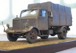 Maquette ITALERI (échelle 1/35ème) du camion Mercedes Benz L3000