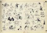 Le fameux dessin qu'Hergé envoie le 5 octobre 1936, réalisé sous la pression de Lesne ; aurait-il pu imaginer le prix atteint 8 décennies plus tard ???