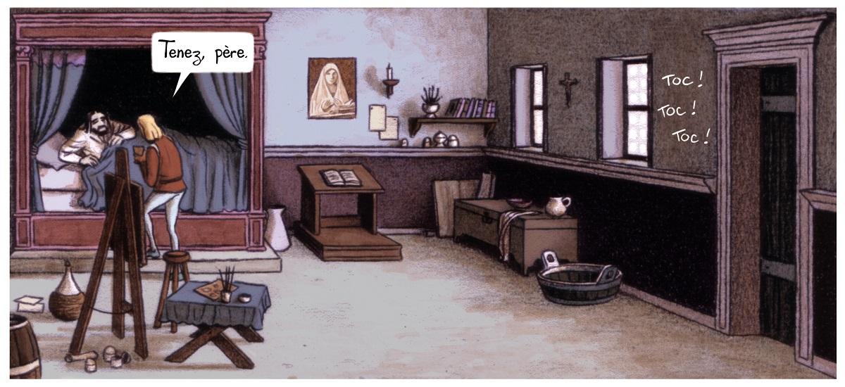 La Vision de Bacchus, Case chambre d'Antonello