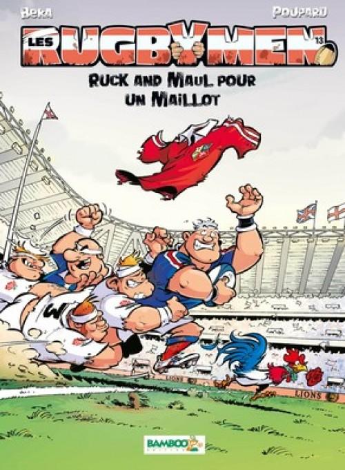 Les Rugbymen T13couv