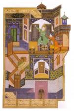 Miniature persanne peinte par Behzâd en 1489