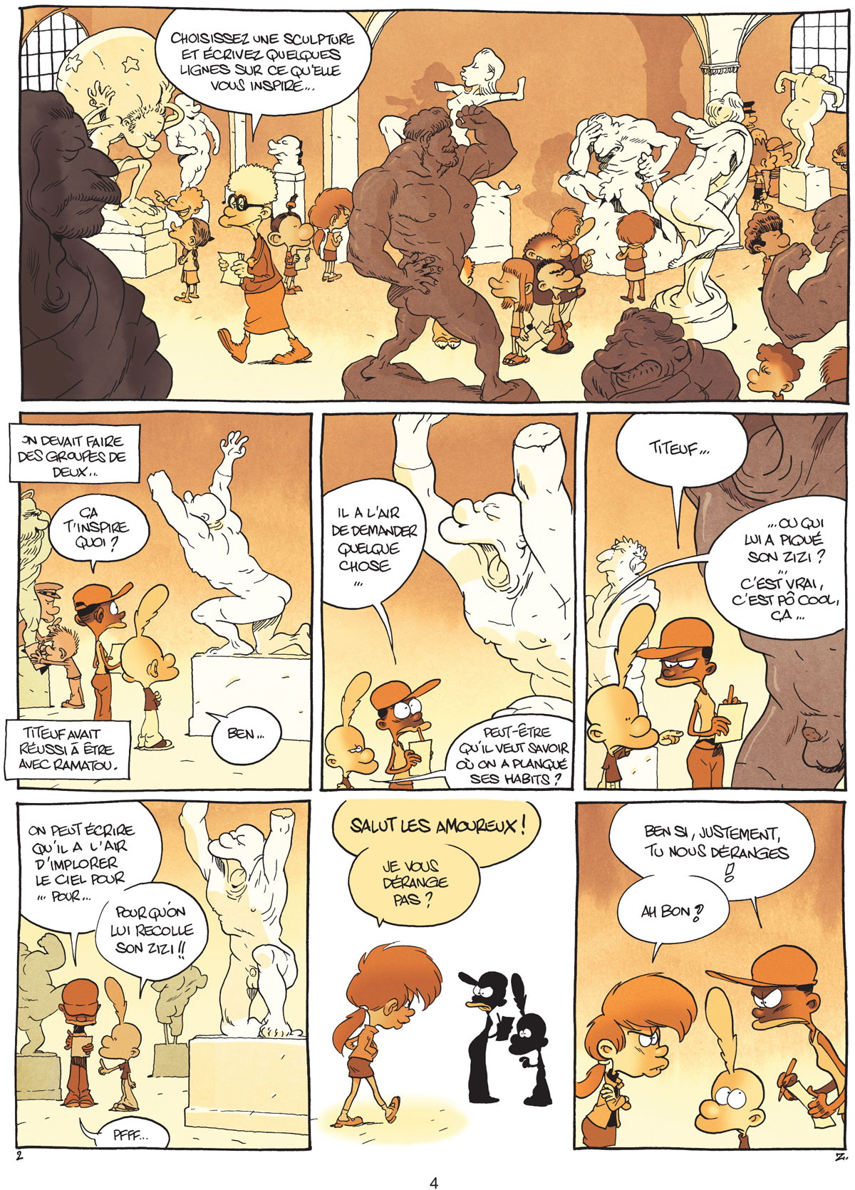 Titeuf tome 14 page 4
