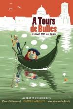 Affiche A Tours de Bulles 2015 Jean Dytar
