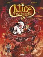 Alice au pays des singes livre III couverture