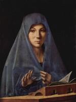 Antonello vierge de l'Annonciation