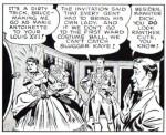 Bruce Wayne en Louis XVI et Robin en Marie-Antoinette, en VO.